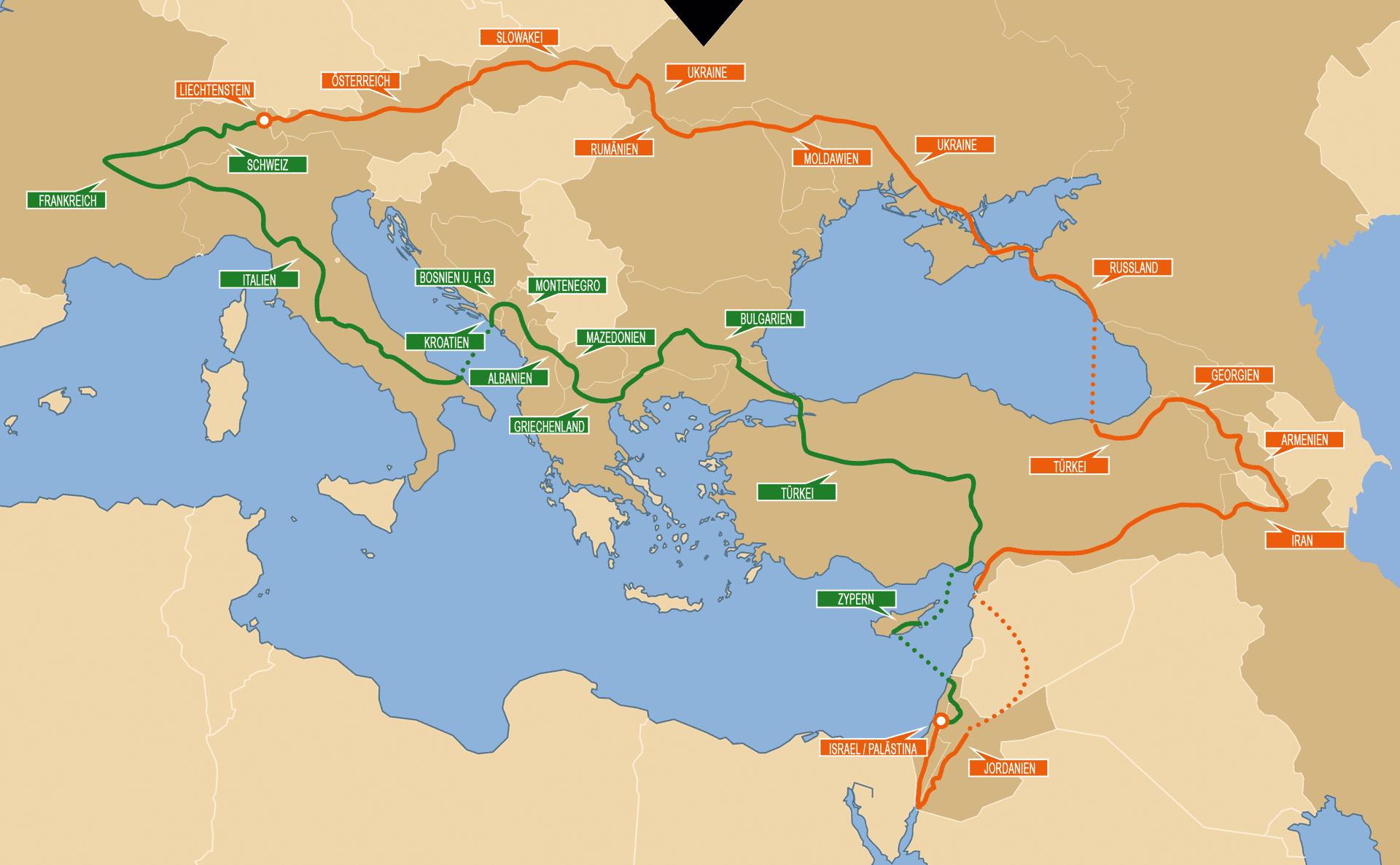 Jerusalem Karte Welt.4kmh Com Zu Fuss Nach Jerusalem Und Zuruck